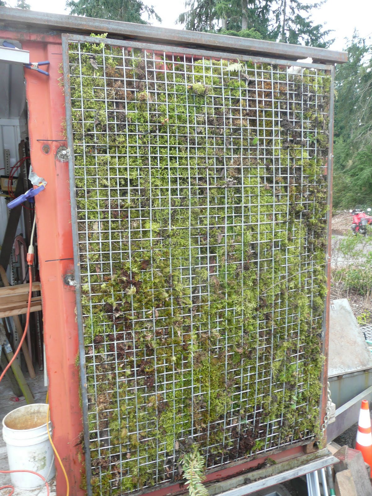 Sustainably minded design and development containerations for Green wall system