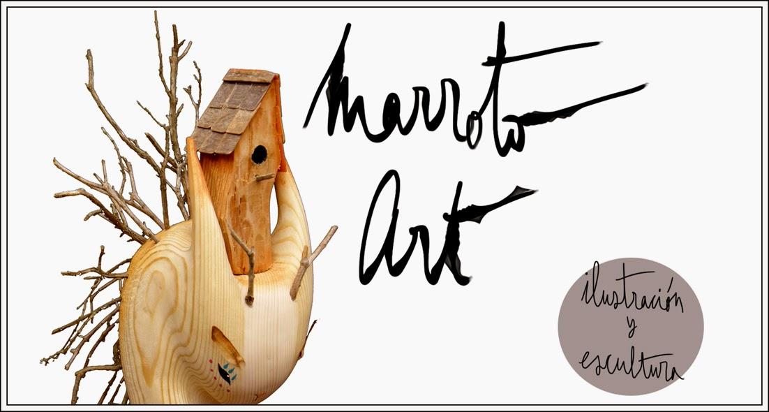 marroto art - ilustracion y escultura