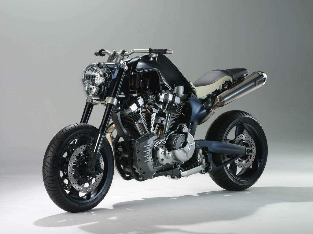 the mt 01 puts a massive high tech air cooled 1 670cc v twin engine in