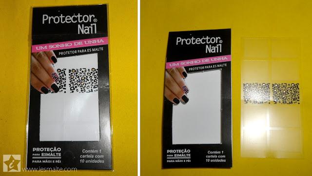 Unhas Gêmeas de Oncinha com Protector Nail
