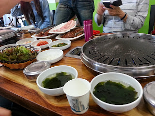 BBQ in South Korea