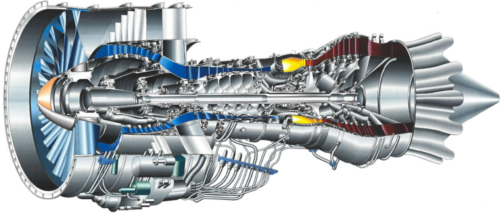 gas turbine The thermodynamic cycle of the basic combined cycle consists of two power plant cycles one is the joule or brayton cycle which is a gas turbine cycle and the other is rankine cycle which is a steam turbine cycle.