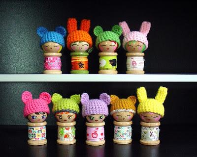 Spool, куколки, dolls