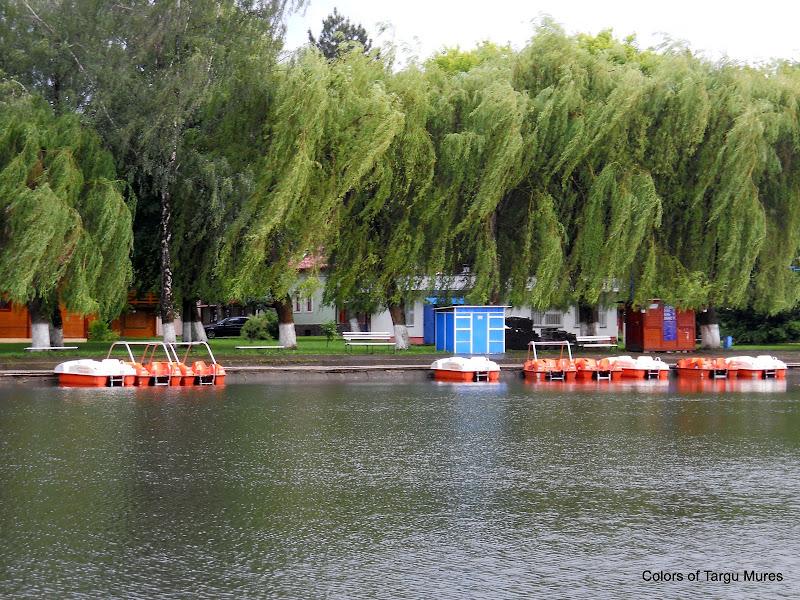 Canal pentru ambarcatiuni. Strandul Weekend din Targu Mures.