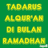 Tadarus Al-Qur'an Di Bulan Suci Ramadhan