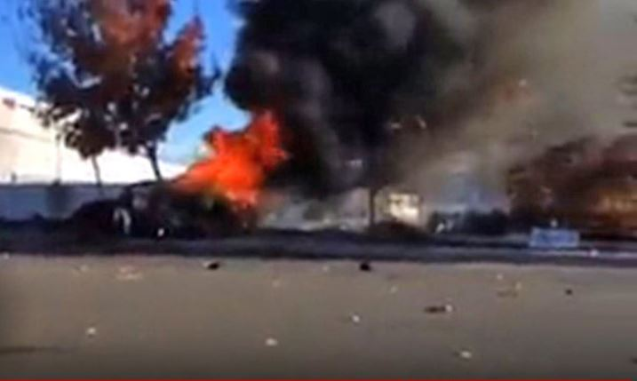 Just Cause  Cars Explode After Inpact