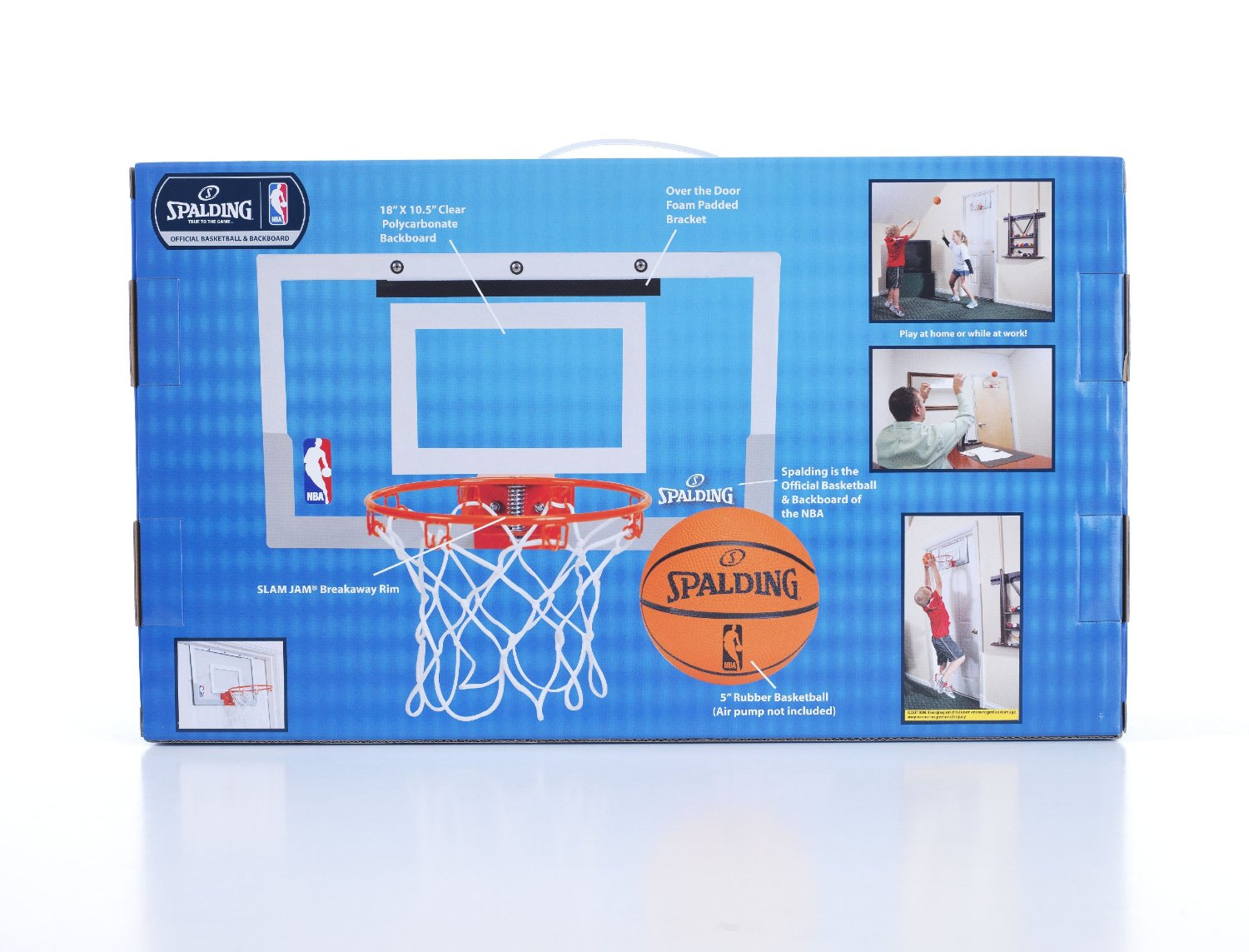 Spalding Nba Slam Jam Mini Basketball Hoop World Sports