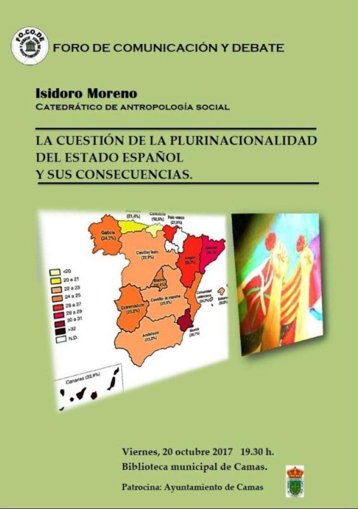 LA CUESTIÓN DE LA PLURINACIONALIDAD DEL ESTADO ESPAÑOL Y SUS CONSECUENCIAS. CAMAS (Sevilla). Audio