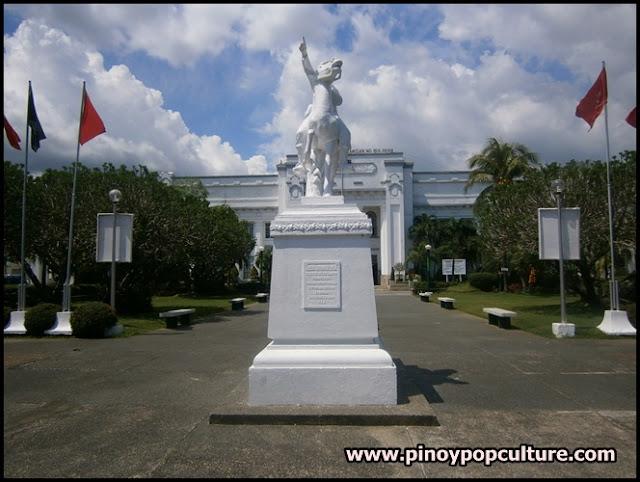 Bulacan Provincial Capitol, plaza, monuments, Gregorio Del Pilar