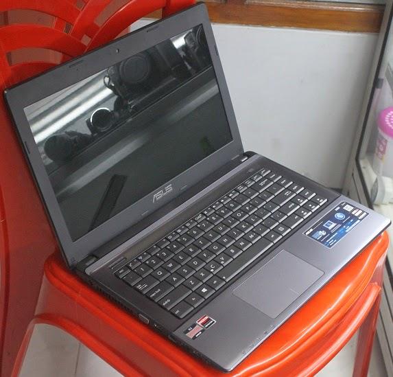 harga bekas laptop Asus X45U - VX058D