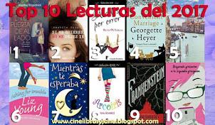 Top 10 Lecturas 2017 - Cine, Libros y Jane Austen