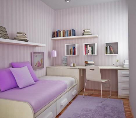 Desain kamar kost sederhana tapi menarik