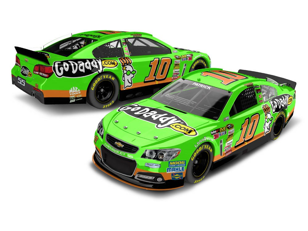 Check out Danica Patrick's 2013 NASCAR ride