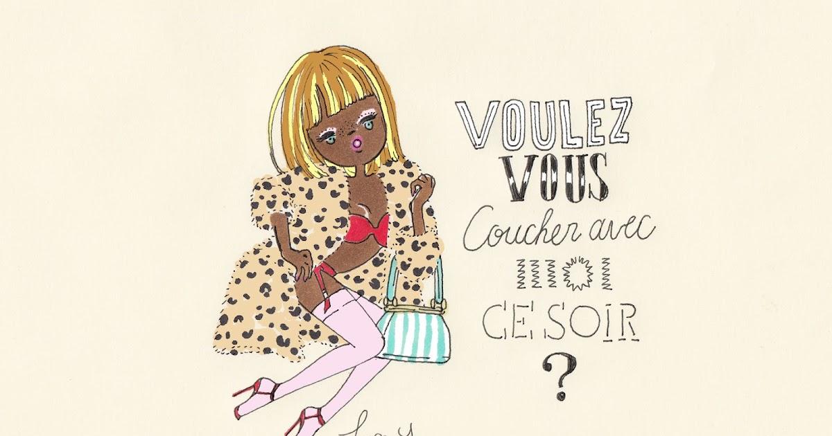 Sweet nothings by foxy illustrations voulez vous - Voulez vous coucher avec moi ce soir betekenis ...