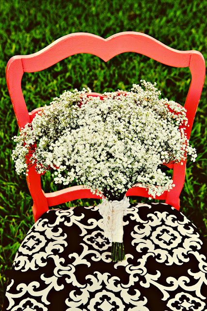 texas wedding refurbished chair