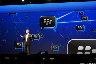 BlackBerry messanging service BBM set for  Android Saturday and Apple iOS Sunday