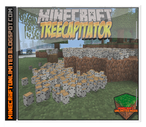 TreeCapitator Mod Minecraft