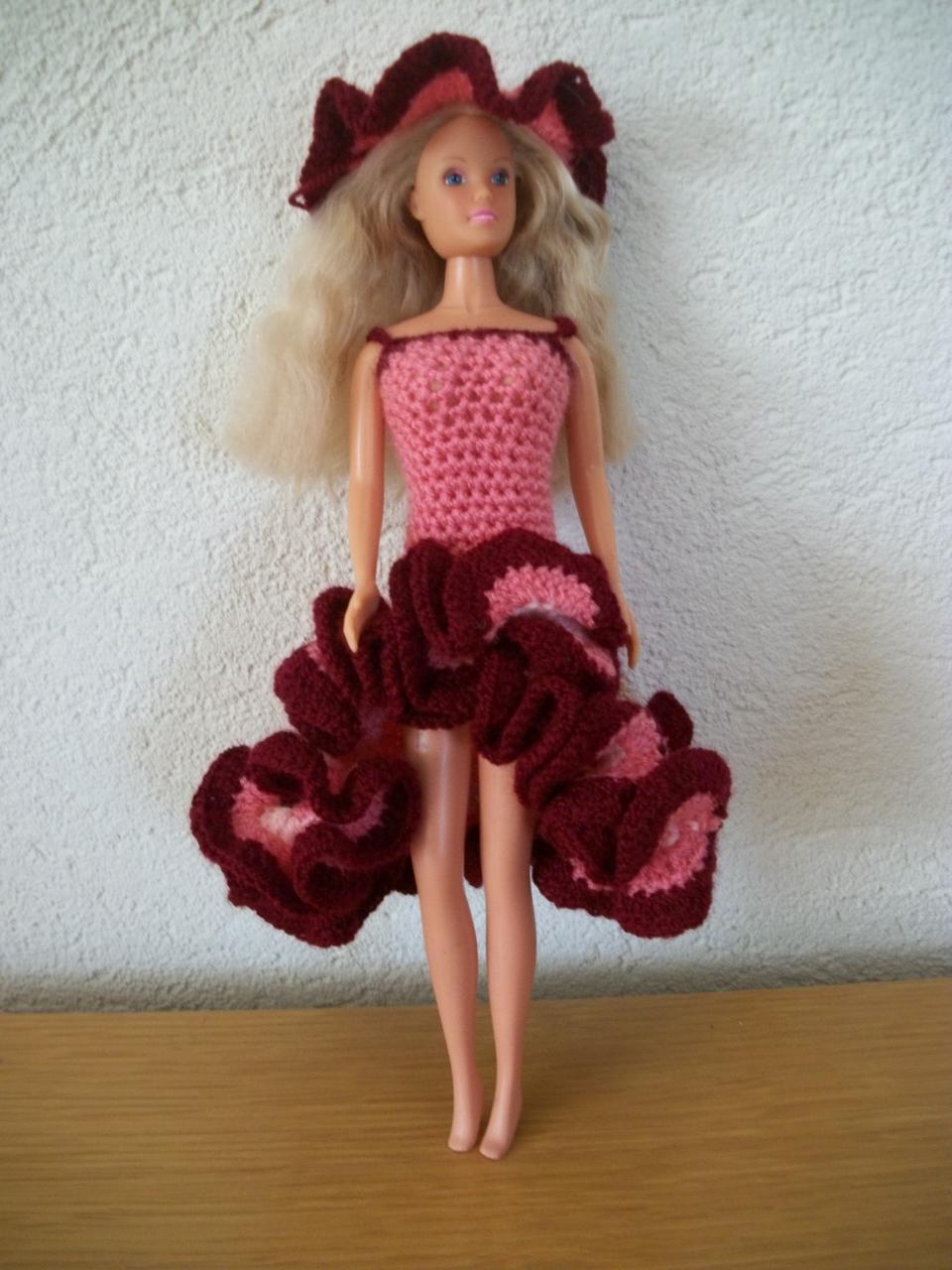 Bruidsjurk barbie haken