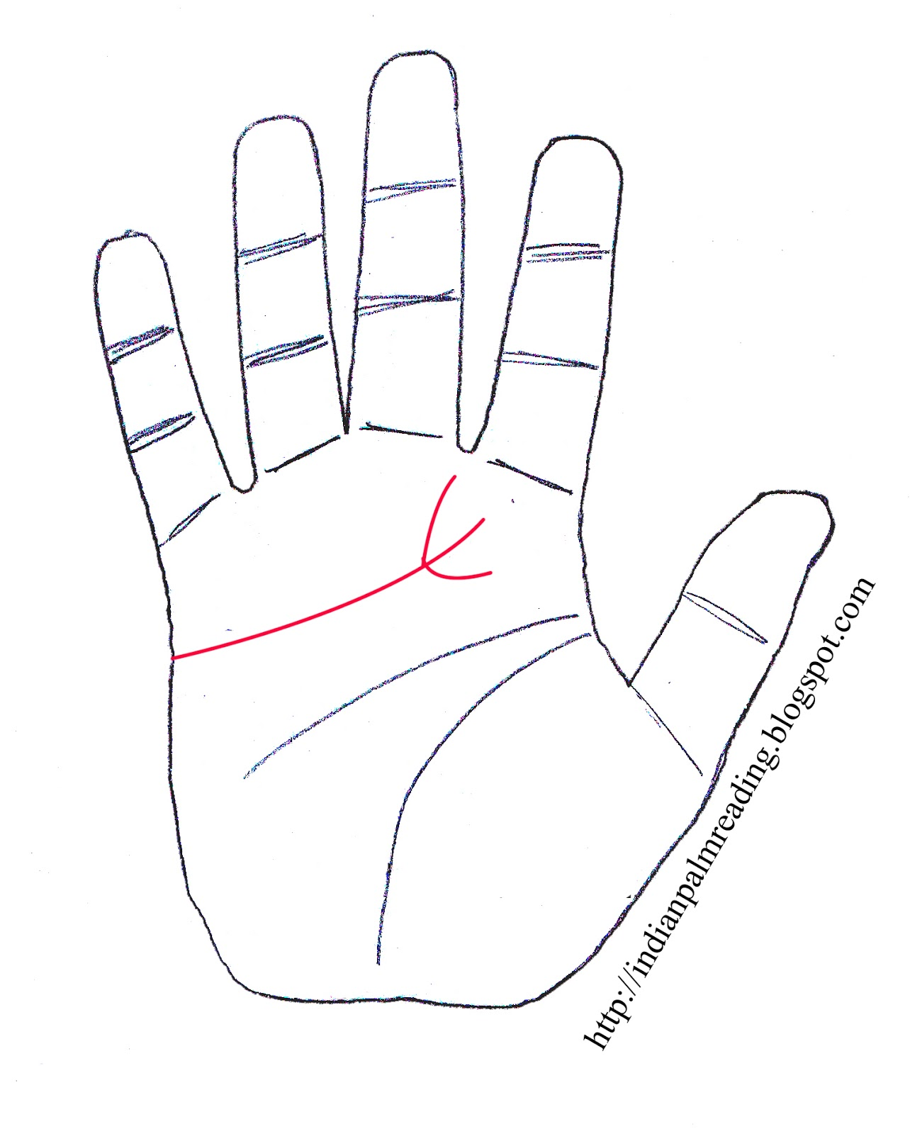 Trident On Heart Line Palmistry | INDIAN PALM READING - ASTROLOGY