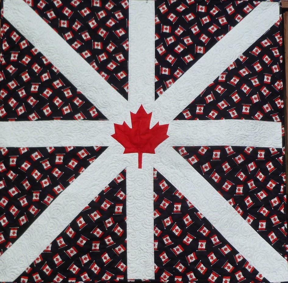 Linda's Quiltmania: Canadian Flag Quilt #3 : canadian flag quilt - Adamdwight.com