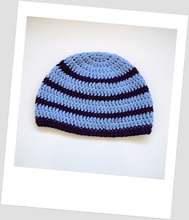 Knottedrose, Etsy, Stripy, Blue, Purple