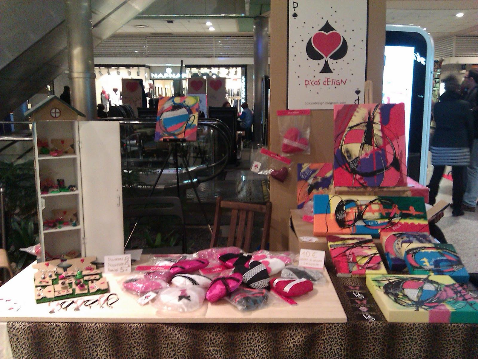 Picas design stand febrero 2011 - Centro comercial moda shoping ...