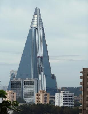 最醜建築 柳京飯店