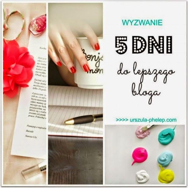 http://www.senmai.pl/2014/07/wyzwanie-blogowe-lipiec-5-dni-do-lepszego-bloga/