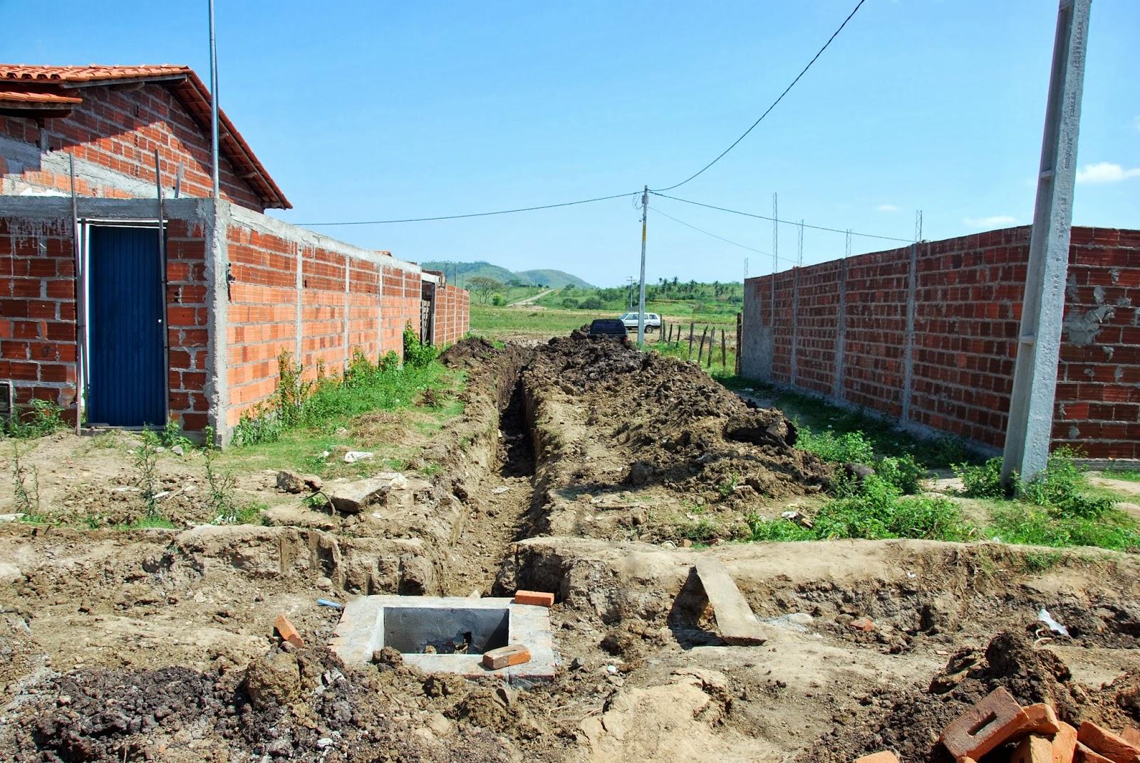 Itarantim Agora: Prefeitura de Itarantim segue com construção de  #087FC3 1600 1071
