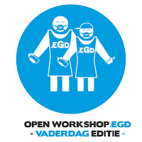 21 Juni : Vaderdag: OPEN workshop.EGD