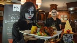 Aneka Menu Makanan di Malam Perayaan Halloween