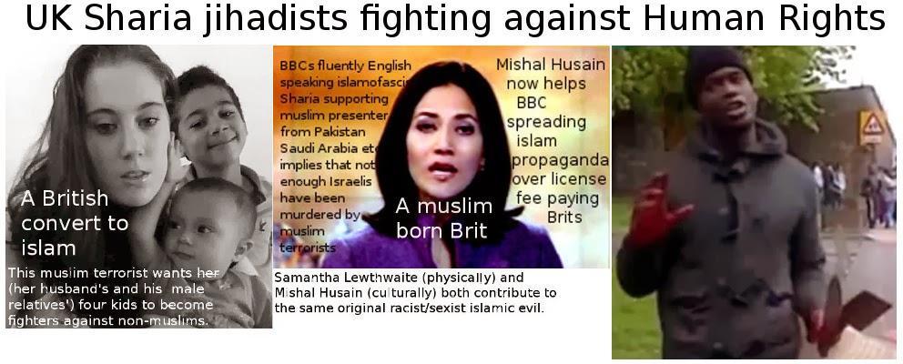 Samantha Lewthwaite, Mishal Husain and Michael Adebolajo