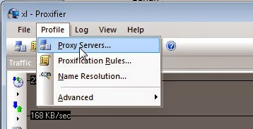 Setting proxifer ke bitvise untuk SSH gratis