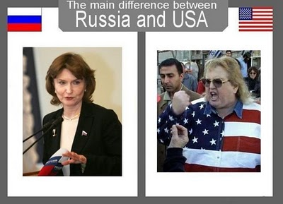 Russian Girls on Russia Versus Usa  Russian Women And American Women Politicians
