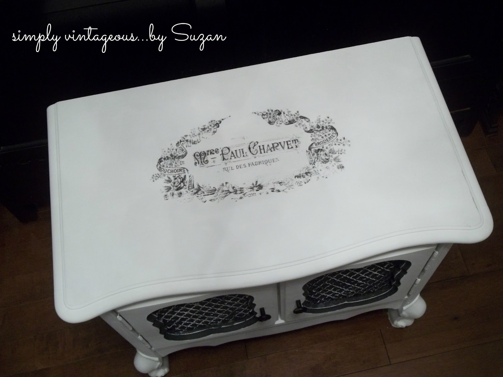 simply vintageous...by Suzan: Here's the story............