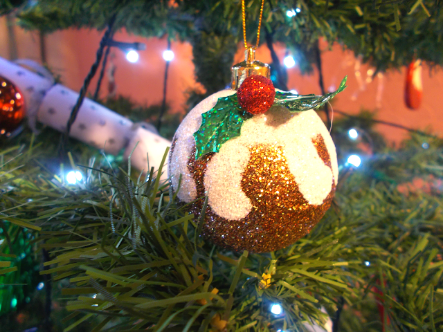 Christmas tree decorations!
