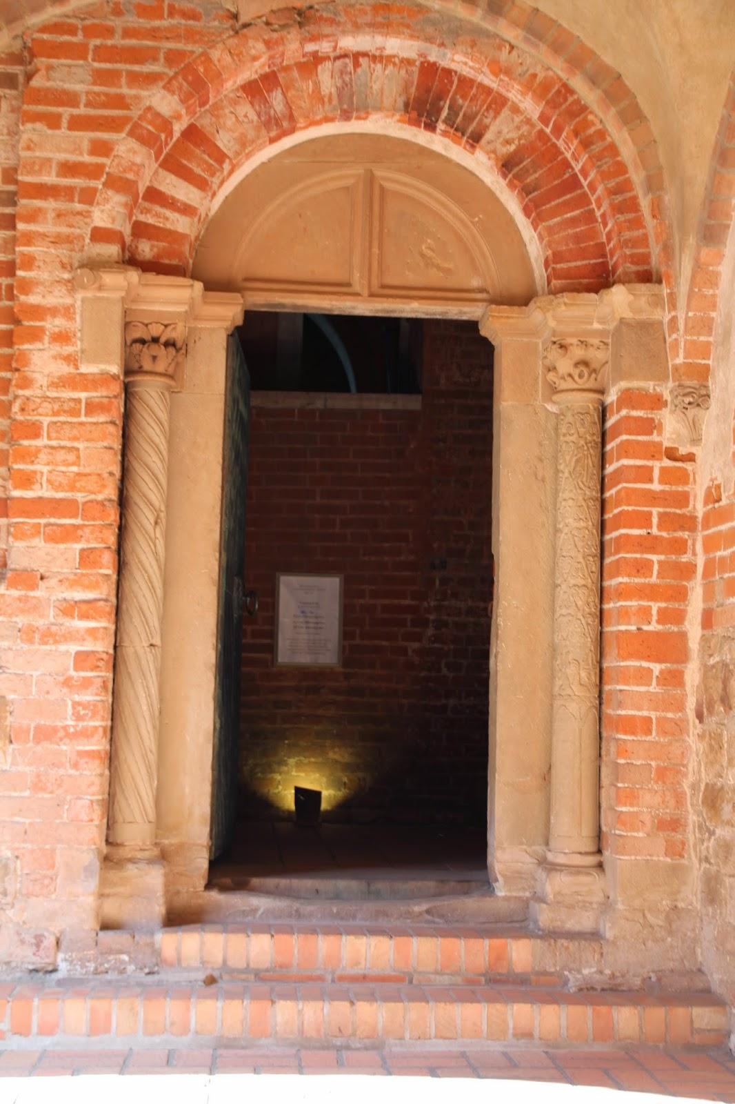 portal średniowieczny, kościół