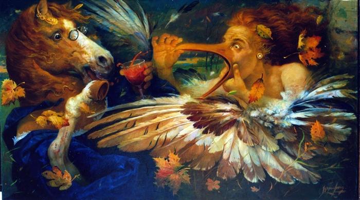 Ignacio Larra 1954 | Venezuelan Figurativ Mural painter