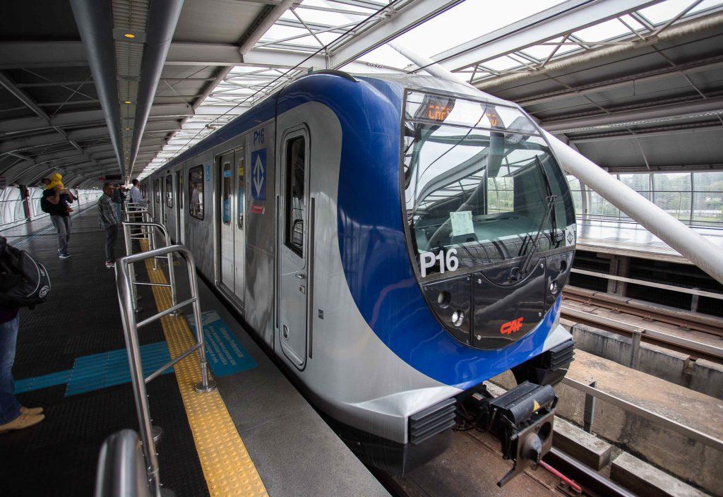 Linha 5-Lilás ganha novos trens