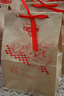 Cars Brown Bag