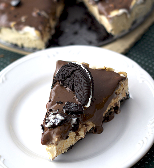 Peanut Buster Ice Cream Cake