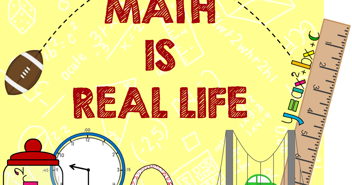 Math Is Real Life Linky! - The Teacher Studio: Learning, Thinking ...
