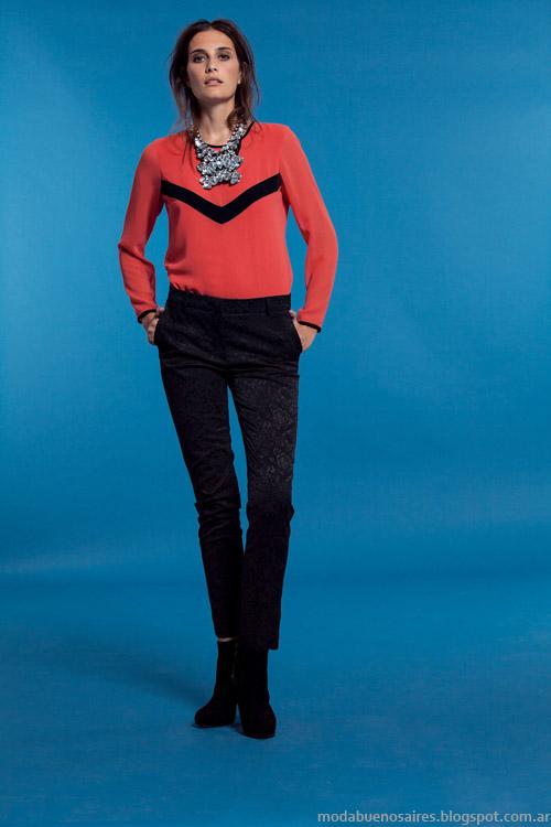 Pantalones moda invienro 2013 Carmela Achaval.