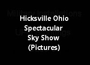 Hicksville Ohio Spectacular Sky Show (Pictures)
