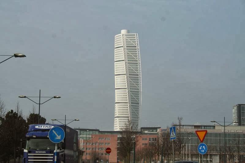 Twisted Torso   The twirled spiral skyscraper, Sweden