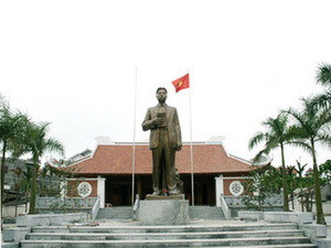 Khu tưởng niệm cố Tổng Bí thư Nguyễn Văn Cừ ở thôn Phù Khê Thượng, thị xã Từ Sơn, tỉnh Bắc Ninh - nguồn: daidoanket