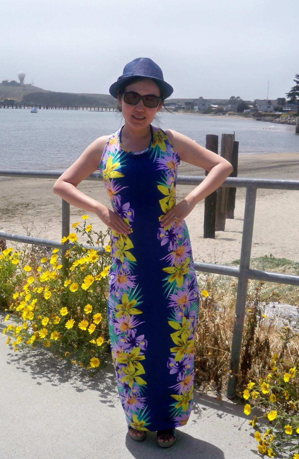 A Maxi Dress for Attending a Beach Wedding