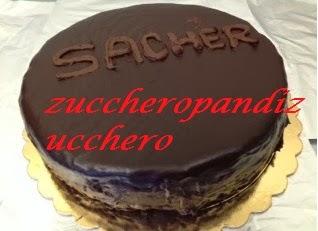 torta sacher....