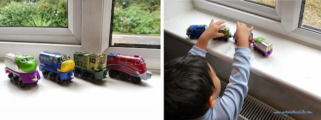 TOMY Chuggington Wooden Railway, Chuggington merchandise, train toys