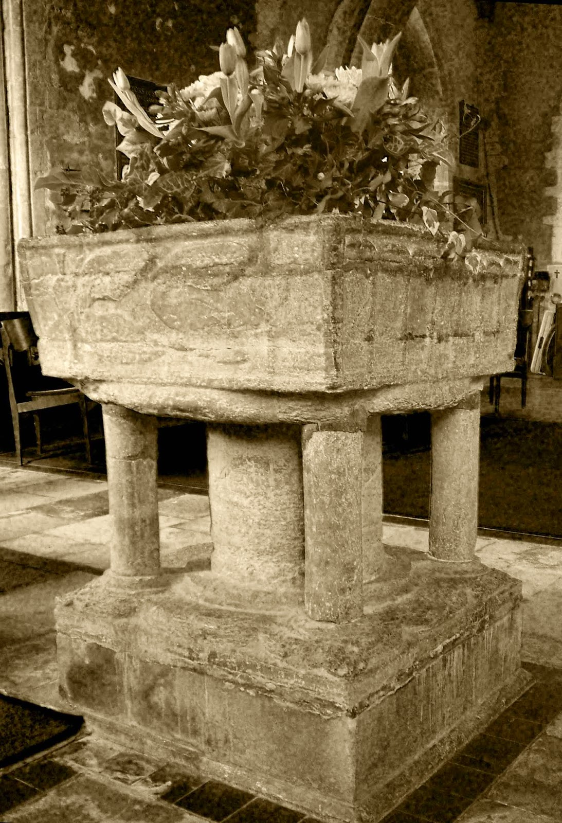 Steeple Langford's amazing Norman font